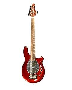 Basses MUSIC MAN BONGO 5 HH MN CANDY RED Basses électriques 5 cordes
