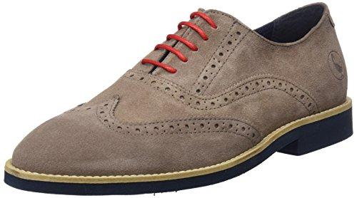 El Ganso M, Zapatos de Cordones Oxford para Hombre, Gris (Visón), 42...