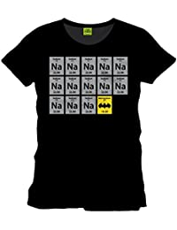 Batman T-Shirt Chemistry Licensed High Quality Front Print Black