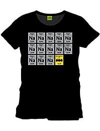 DC Comics Men's Batman Na Na Na T-Shirt Black