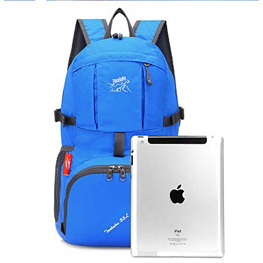 SUNNY KEY-Wanderrucksäcke@35 L Wandern Tagesrucksäcke Wasserdichte Dry Bag Compression-Pack RucksäckeFreizeit-Radfahren Camping Für den täglichen Einsatz Reisen Blue