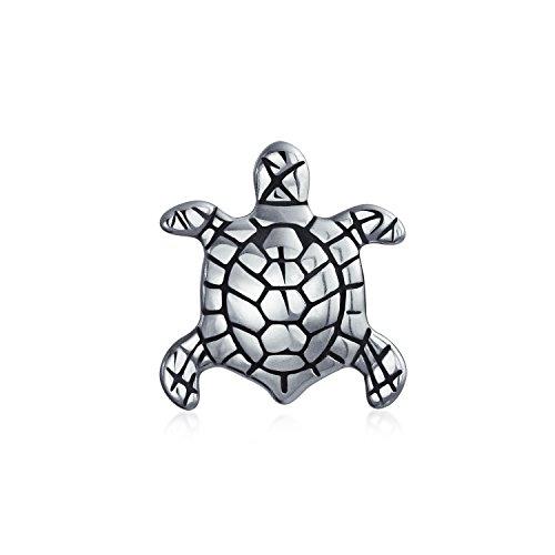 Sea Turtle Tropischen Raupe Schildkröte Charme Für Damen Für Jugendlich Sterling Silber Passt Europäischen Armband - Sidekick 3 Bling