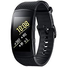 Samsung Gear Fit2 Pro Smartband, Nero (Large), GPS, Impermeabile 5 ATM [Versione Italiana]