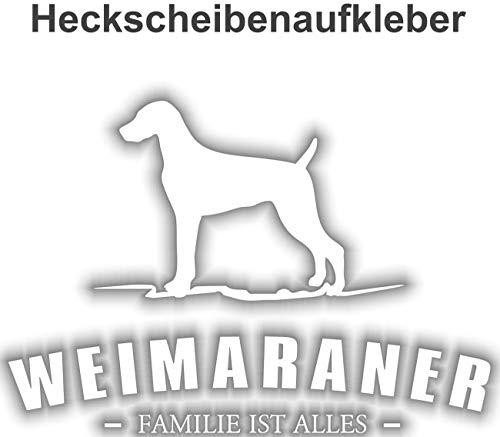 Aufkleber Weimaraner wetterfester -