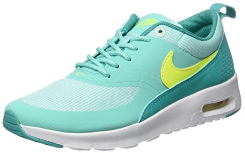 Nike Mädchen Air Max Thea (GS) Laufschuhe, Türkis (Hyper Turq / Volt-Clear Jade-White), 37.5 EU