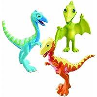 Dinotren - Pack de 3 personajes: Derek, Ollie y Sr. P (TOMY LC53053MP)