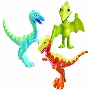 Dinosaur Train Collectible 3-Pack Derek, Ollie and Mr. P