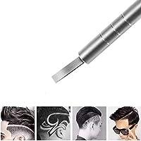 FORNORM Grabado del pelo Pluma del pelo del tatuaje del ajuste de la cara ceja dispositivo de afeitar Hair Razor Pen con 10pcs cuchillas para uso profesional y en el hogar