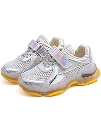 Shoes Zapatillas Deportivas Antideslizantes Ligeras para niños, Malla Transpirable, Calzado Deportivo para niños, Deportes al Aire Libre para niñas