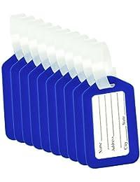 CSTOM 10/20 Pack Étiquette de Bagage Valise Accessoires Voyage Identifier Étiquettes
