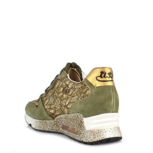 Ash Chaussures Love Lace Army Baskets Femme Army/Or