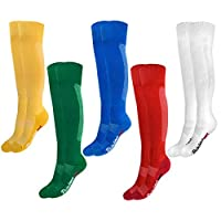 Rainbow Socks - Boys Girls Football Soccer Knee High Socks
