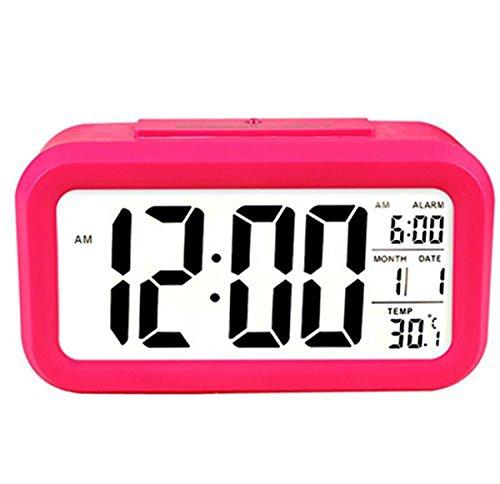 cozyswanr-nuevo-digital-led-silencioso-despertador-con-luz-de-noche-rosa-roja