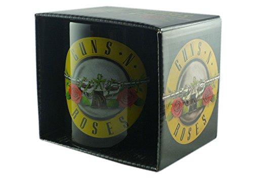 Guns N Roses-tazza in ceramica-Logo-confezionato in una confezione regalo.