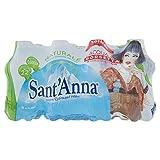Sant'Anna - Acqua da Borsetta - Blister d'Acqua Minerale Naturale - Confezione da 12 Bottigliette Pet da 0.25 Litri Ciascuna
