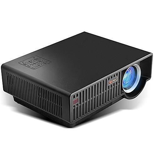 SG HD-Videoprojektor LED-Lichteffektprojektor Mini-tragbarer Taschenvideoprojektor für Heimkino/Reiseunterhaltung/Büro