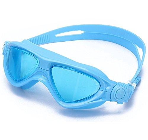 Schwimmbrille Masken Kinder Komfort Klare Anti-Beschlag Taucherbrille für Jungen Mädchen Kinder...