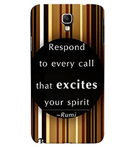 PRINTVISA Quotes Inspiration Case Cover for Samsung Galaxy Note 3 Neo