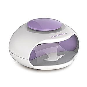 TOUCHBeauty TB-0889 Lámpara de LED Ventilador de esmalte de Uñas Secadora de uñas normales para la Manicura, Ventilador…