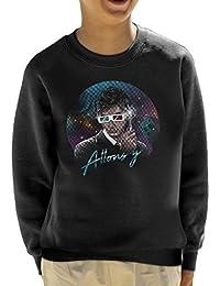 Cloud City 7 Doctor Who David Tennant Allons Y Retro Wave Kid's Sweatshirt