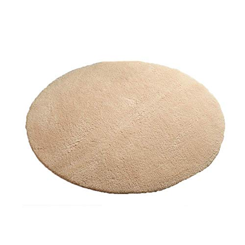 Payonr Weiche Teppiche für Innenbereich, Moderne Teppiche, sehr weich, zeitgenössisch, flauschig für Innenbereich, Wohnzimmer, Schlafzimmer, Fußmatte, Rice Camel, 160 cm -