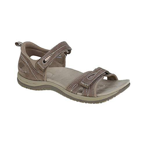 womens savannah double velcro strap sandals 30248