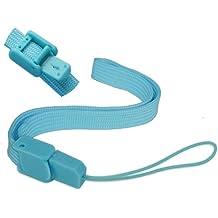 Skque correa para la muñeca para mando a distancia Nintendo Wii, azul
