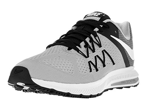 Nike Zoom Winflo 3, Chaussures de Running Entrainement Homme WOLF GREY/WHITE-BLACK