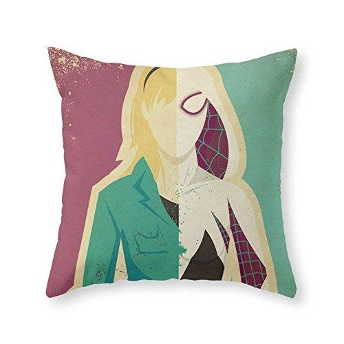 fengxutongxue Spider Gwen Throw Pillow Indoor Cover (18