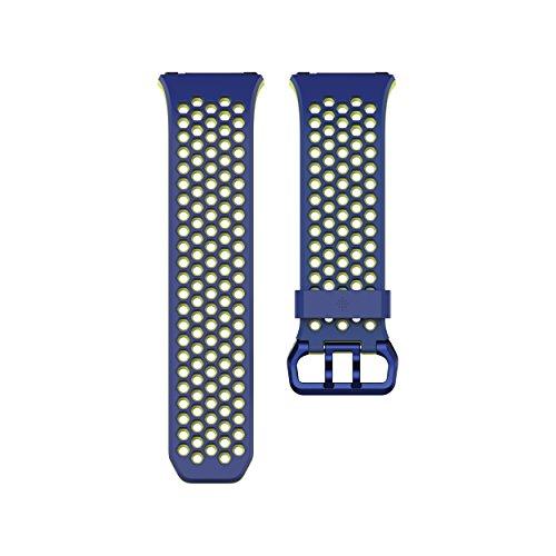 Fitbit Ionic Correa Sport, Unisex Adulto, Blue, Large