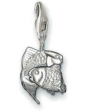 Thomas Sabo 0595-001-12 Fische Sternzeichen Silber Charm