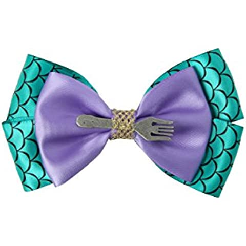 Disney The Little Mermaid Cosplay Hair Bow by