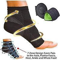 Plantarfasziitis Knöchel Kompression Socken. Bonus Einlegesohlen für Arch Unterstützung. (weiß) preisvergleich bei billige-tabletten.eu
