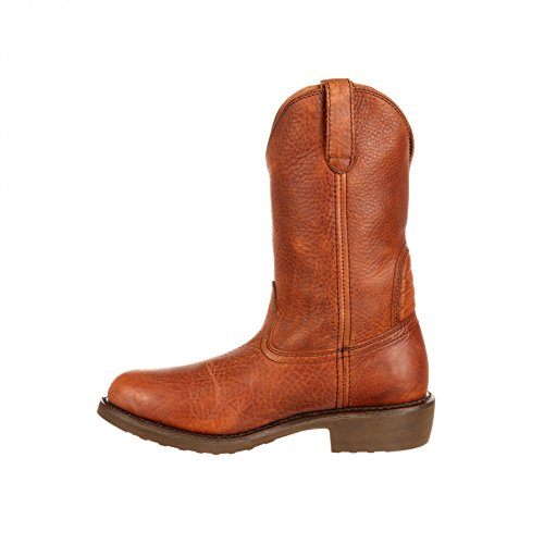 FB Fashion Boots Georgia Boot G003 W Carbon-Tec Wellington Copper/Herren Westernstiefel Braun/Herrenstiefel Copper (Weite W)