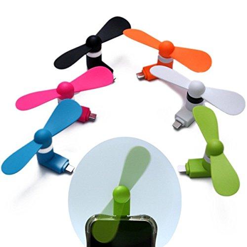 ApeCases® Mobile USB Fan/ Portable USB fan/ Mini Mobile Cooler/ Mini USB fan for Android,Samsung Galaxy S6/S4/S3/S2,Note 4/2,HTC ONE M8 M9,Google Nexus 7/6/5/4,LG,Motorola ATRIX,Nokia And More