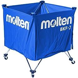 Molten BKF-2 - Carro portabalón de voleibol, color azul, talla 60x60x55