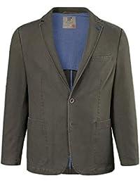JP 1880 Herren große Größen bis 66   Sakko   Blazer in Baumwolle-Qualität    Reversform, Halbfutter, 2… 9b678235b1