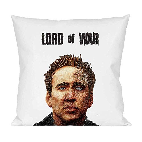 Movie Stars Merchandise Lord of War Pillow Cushion Extra Soft Polyester for Bed Home Furniture by