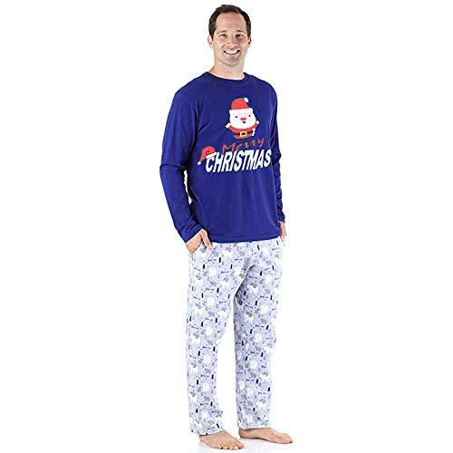 Passende Pyjama PJ Sets Weihnachten Indoor Shirt Hosen Sets 2 Stücke Schlaf Nachtwäsche ()