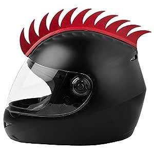 Cuttable Helmet Spikes for All Motorcycles Dirt Bike & Normal Helmets (Black) (black)