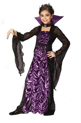 (Partyland Countess of Darkness, Child (8-10) Costume)