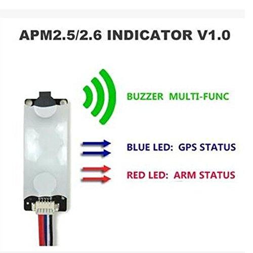 LaDicha Apm2.5 / 2.6 / 2.8 Mwc Flugregler Licht & Summer Indikator V1.0