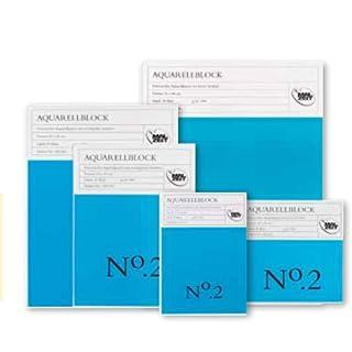 Aquarellblock No. 2 - 20 x 20 cm - 300 g/m²