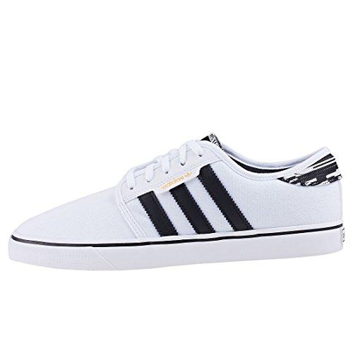 Adidas Sneaker Seeley Bianco (chaussures Blanc / Noyau Noir / Chaussures Blanc)
