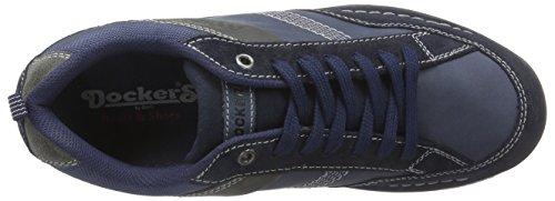 Dockers by Gerli 37lk007-204311, Richelieu homme Bleu (navy/blau 666)