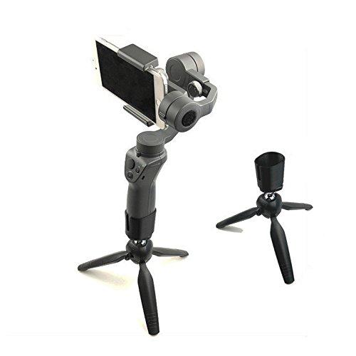Hensych Handheld Gimbal Stabilisator Stativ Fotografie Ständer Faltbare Bein Halterung Unterstützung für DJI OSMO Mobile 1/2 (für Osmo Mobile 2)