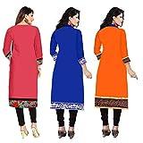 Platinum Women's Dress Material(PLT 020304_Multi-Coloured_Free Size)