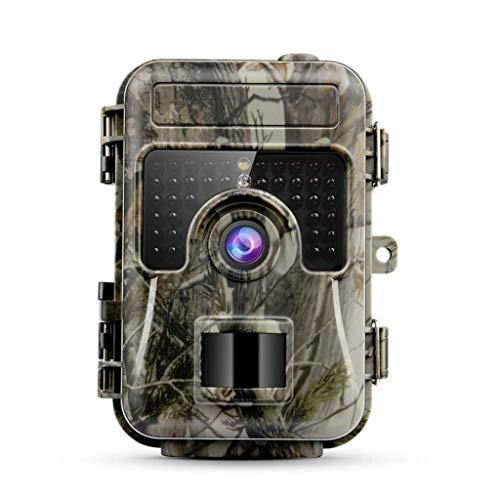 MKJYDM Wildkamera-Tracking 16MP Erfassungsbereich 0,5 s für die Überwachung der Sicherheit zu Hause Auslösegeschwindigkeit IP66 Wasserdicht und staubdicht 1080P Live Capture Cam 120 ° Jagdkamera