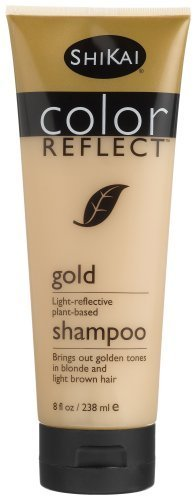 Shikai Color Reflect Gold Shampoo, 8 Ounce Tube by ShiKai [Beauty] (English Manual)