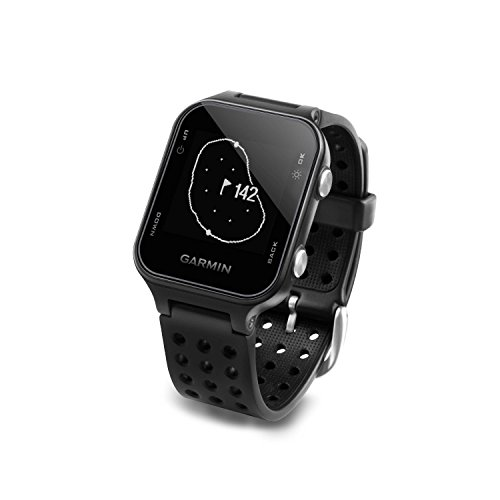 Garmin Approach S20 Golf GPS Watch Black with USB Car Charge Adapter Activity Tracker Smart Notifications 40 000 Worldwide Courses